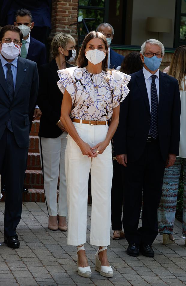 looks de las celebrities La Reina Letizia
