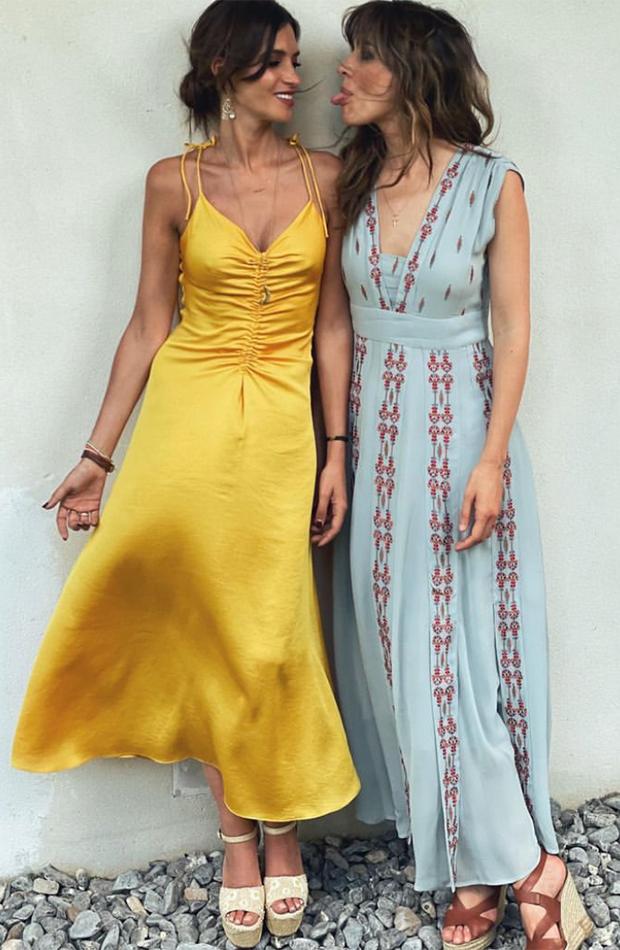 looks de las celebrities Sara Carbonero e Isabel Jiménez