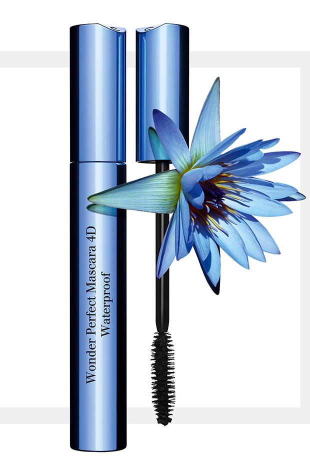 maquillaje waterproof Máscara Wonder Perfect 4D Waterproof de Clarins