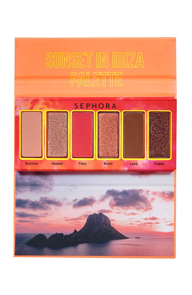 rebajas de belleza Sunset In Ibiza Palette de Sephora Collection