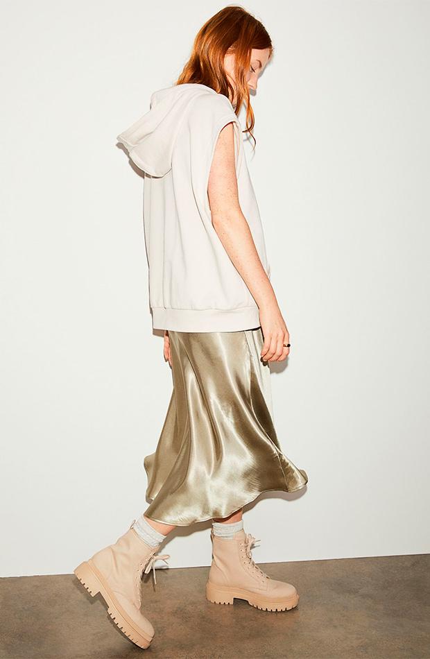 Falda midi de las rebajas de verano de H&M