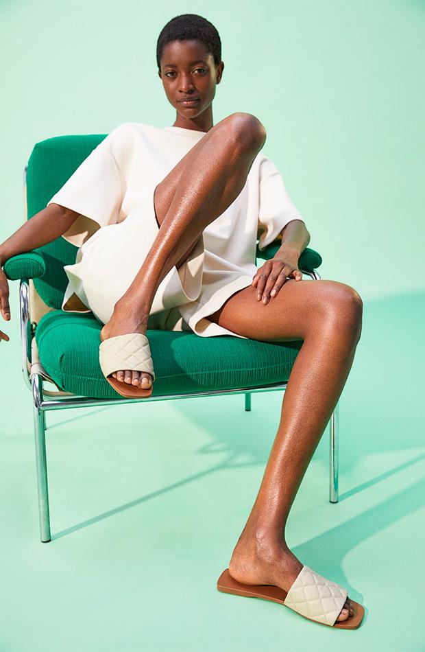 Sandalias guateadas de las rebajas de verano de H&M
