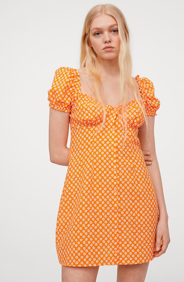 Vestido de flores de las rebajas de verano de H&M