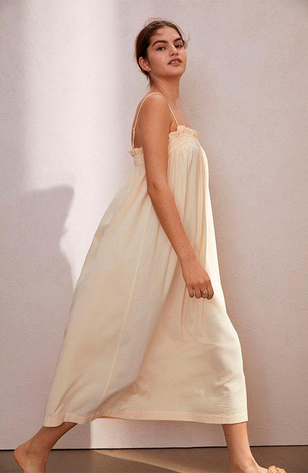 Vestido de tirantes de las rebajas de verano de H&M