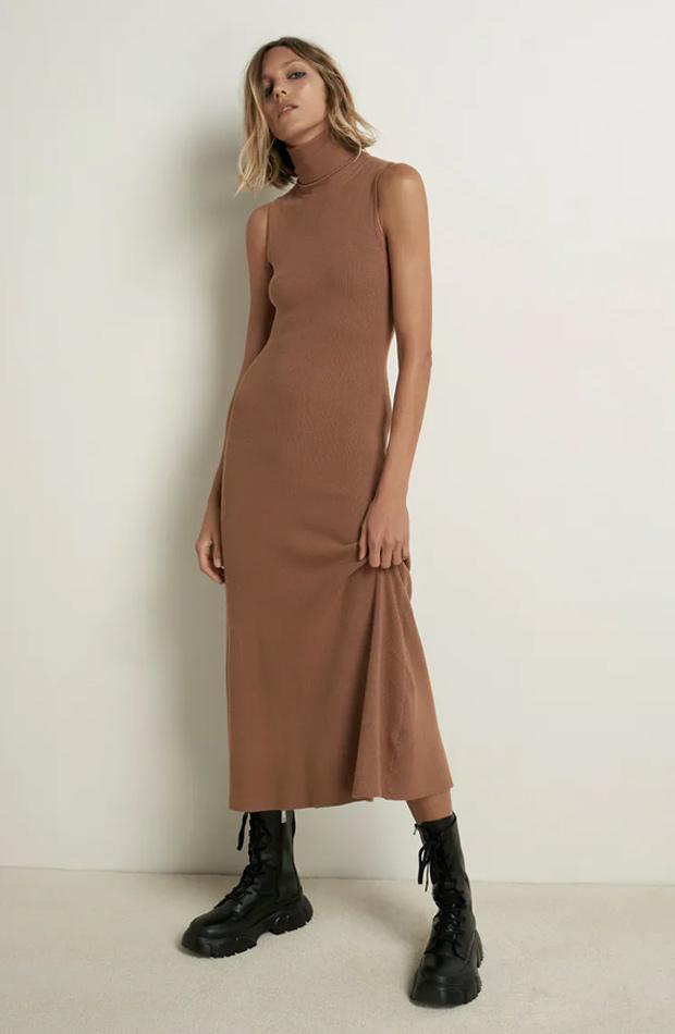 Vestido de punto de las rebajas de verano de Zara