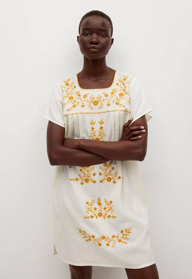 Vestido de las rebajas de verano de Mango