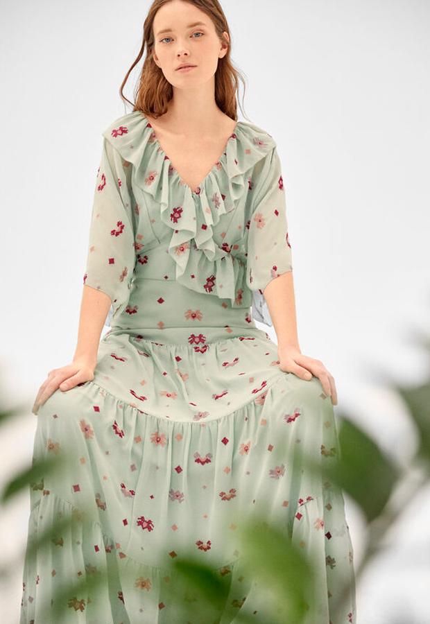 Vestido de las rebajas de verano de Hoss Intropia