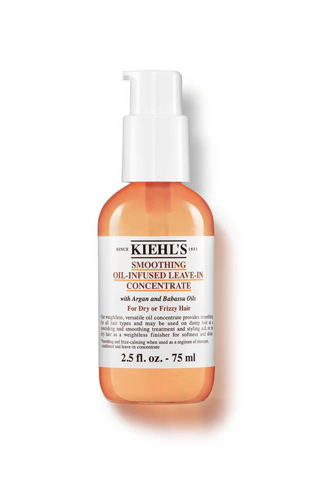 Aceites para cabello fino Smoothing Oil-Infused Leave-In Concentrate de Kielhs