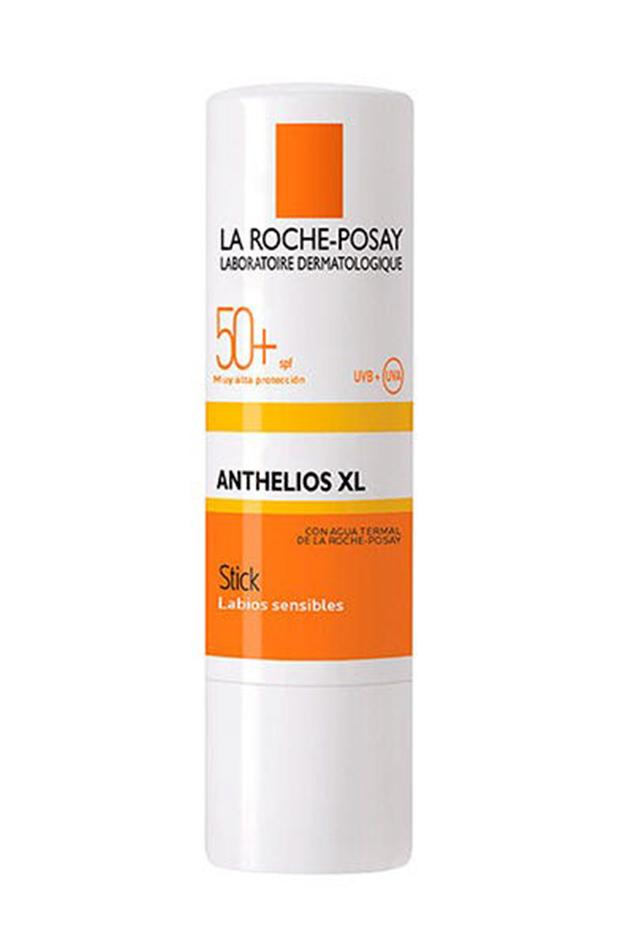 labiales con protección solar Stick Labial Anthelios SPF50 La Roche Posay