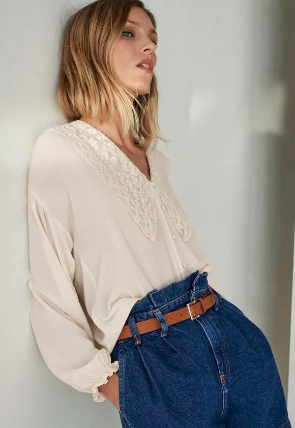 prendas básicas de verano baratas: camisa blanca