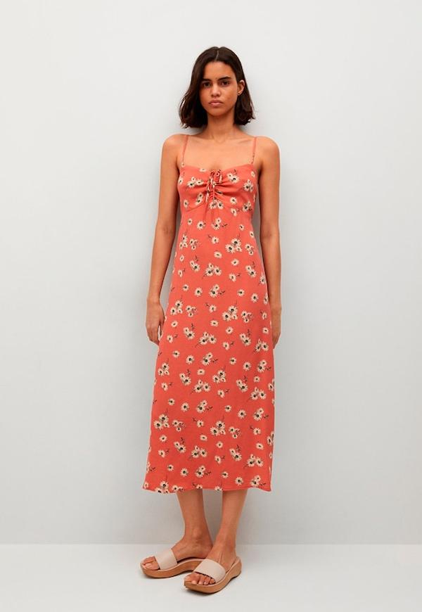 prendas básicas de verano baratas: Vestido de flores