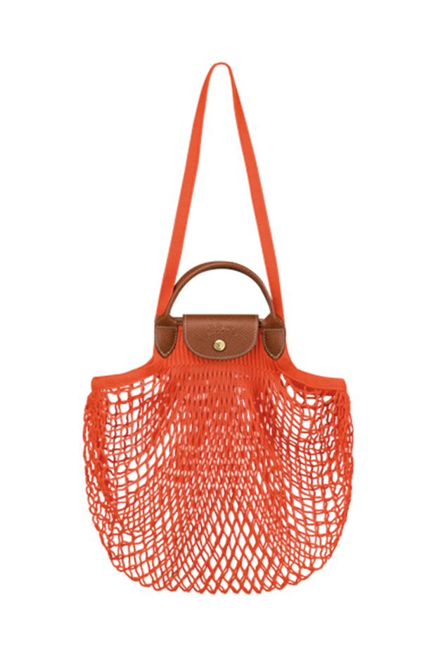bolsos más buscados Le Pliage Filet de Longchamp