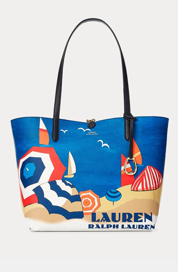bolsos más buscados Tote reversible de Ralph Lauren