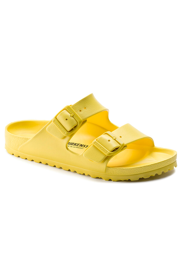 chanclas para verano Birkenstock arizonaeva amarillas