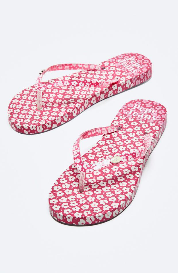 chanclas para verano Pepe Jeans flores