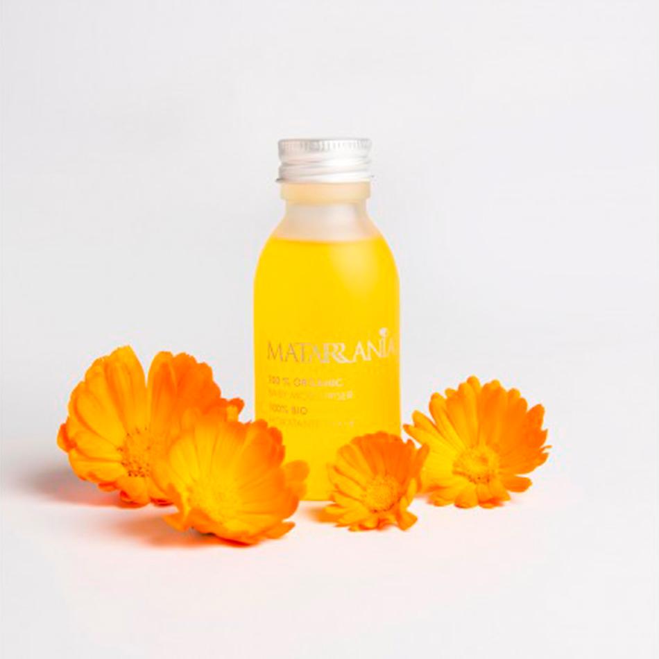 cosmética eco para niños Aceite hidratante de Matarrania