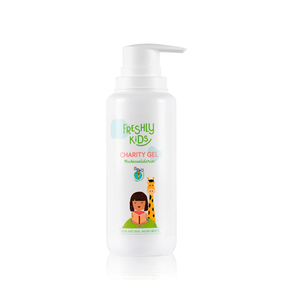 cosmética eco para niños Charity Gel de Freshly Cosmetics