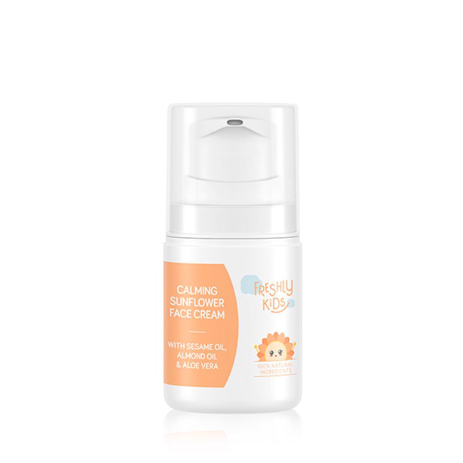 cosmética eco para niños Calming Sunflower Face Cream de Freshly Cosmetics