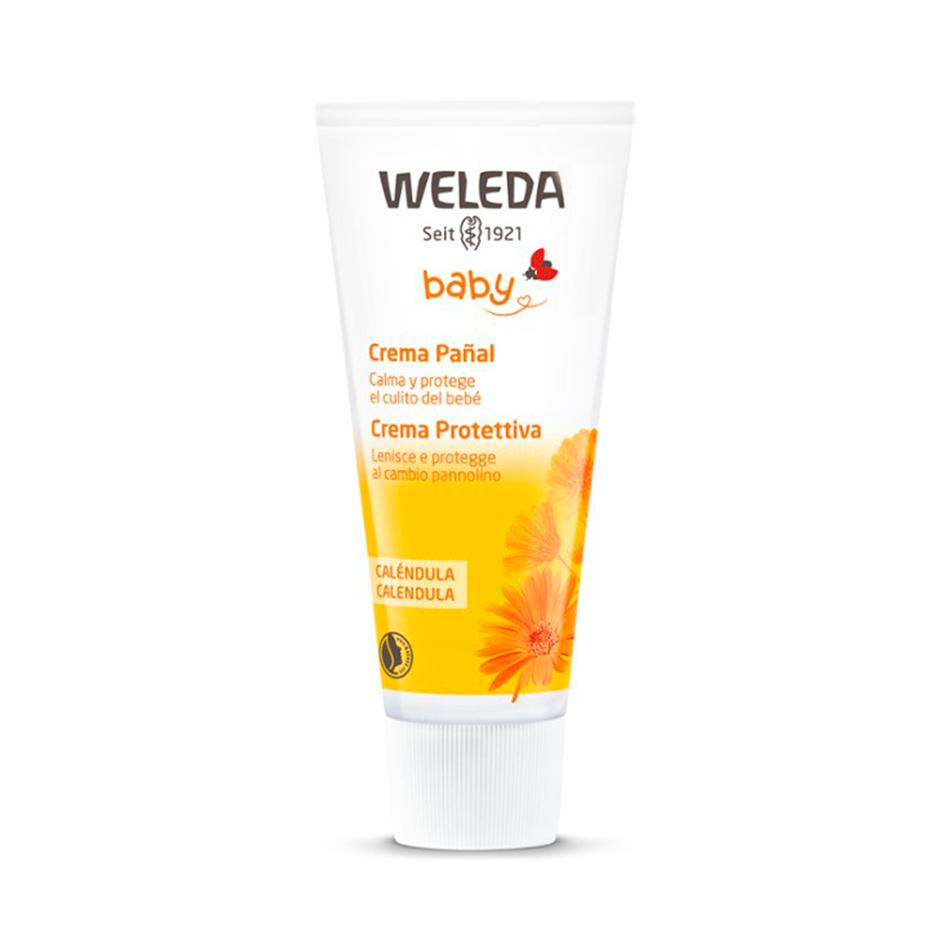Crema pañal de Weleda cosmética eco para niños