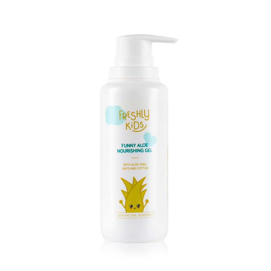 cosmética eco para niños Funny Aloe Nourishing Gel de Freshly Cosmetics