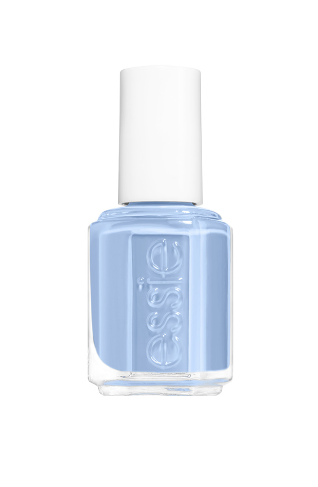 Esmalte de uñas de Essie azul manicuras de tendencia