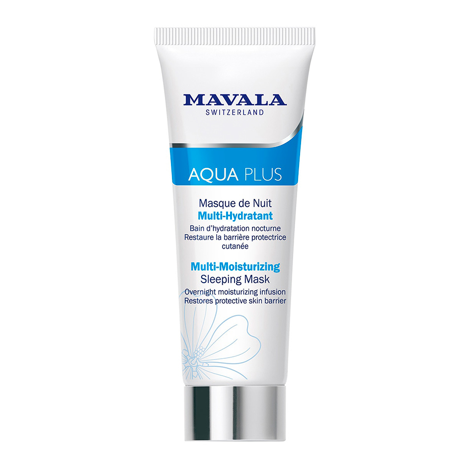 mascarillas para pieles secas Mascarilla noche Multi Hidratante Aqua Plus Mavala