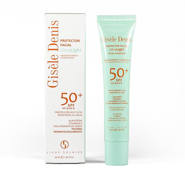 Protector Facial Ultralight SPF 50+ 40ml de Gisèle Denis