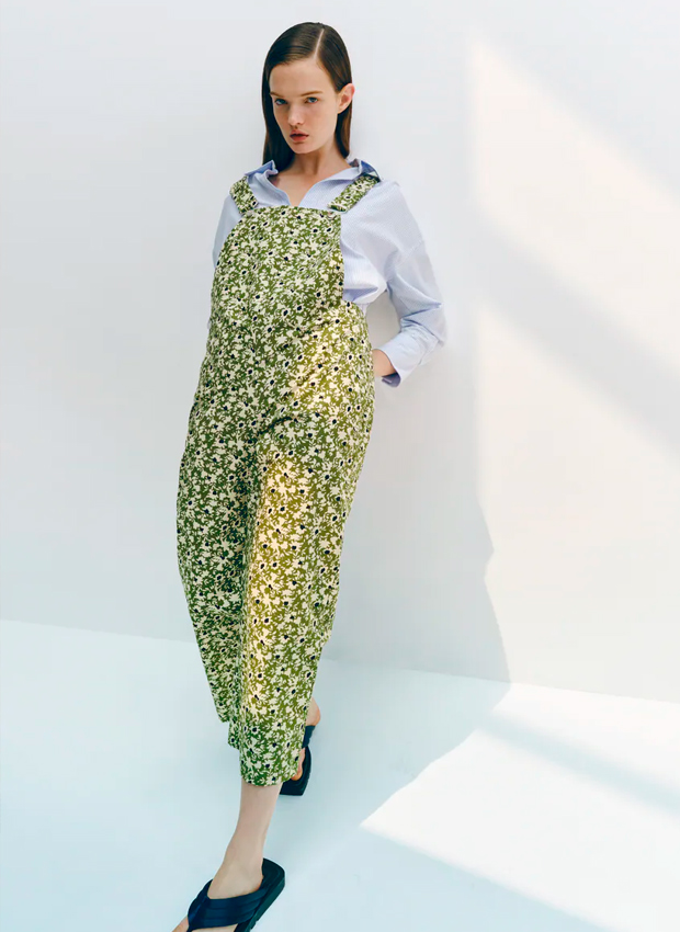 Peto de flores de Zara