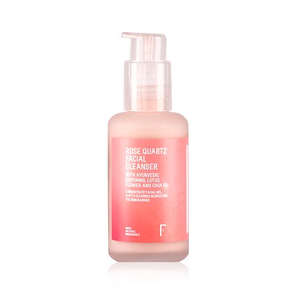 Freshly Cosmetics piel grasa en verano Rose Quartz Facial Cleanser