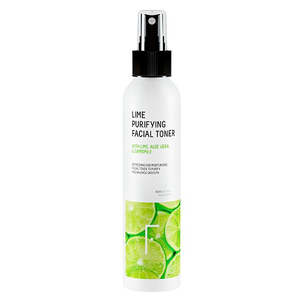 Freshly Cosmetics piel grasa en verano Lime Purifying Facial Toner
