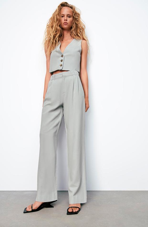 prendas sofisticadas Traje gris de Zara