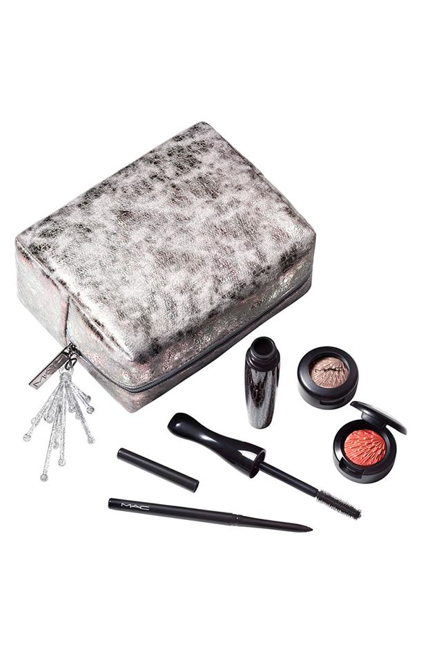 Estuche de regalo Kit de ojos Wow-Factor M.A.C productos de belleza en formato viaje