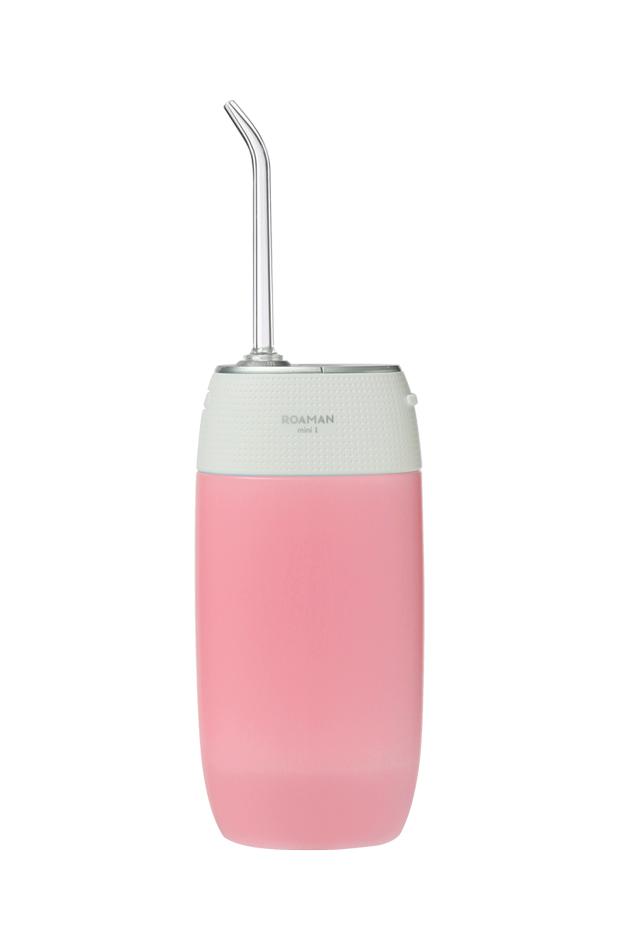 Irrigador Mini 1 Rosa de Roaman productos de belleza en formato viaje