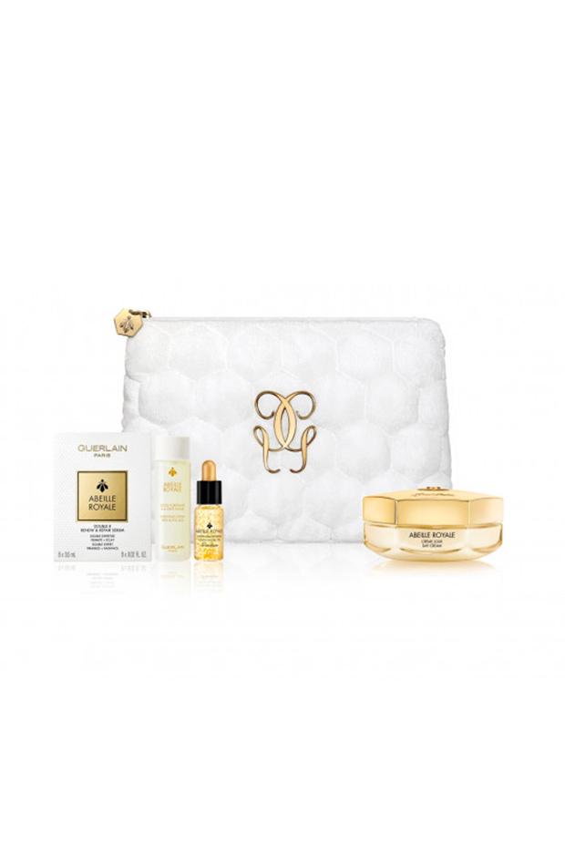 productos de belleza en formato viaje Cofre Abeille Royale de Guerlain