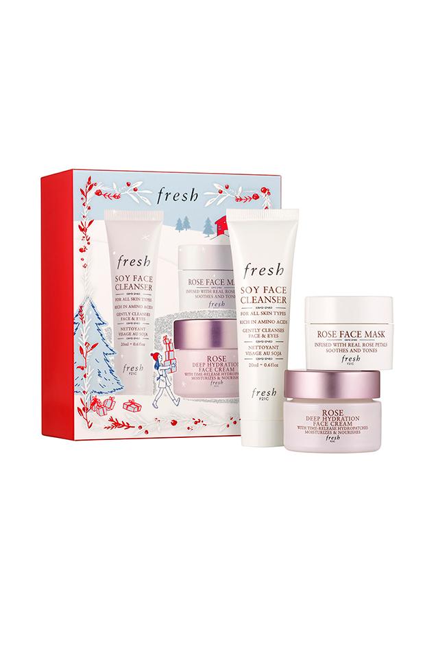 productos de belleza en formato viaje Trío De Cuidado de Fresh