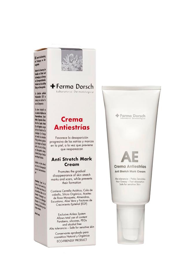 productos para estrías Crema Antiestrías de Fridda Dorsch