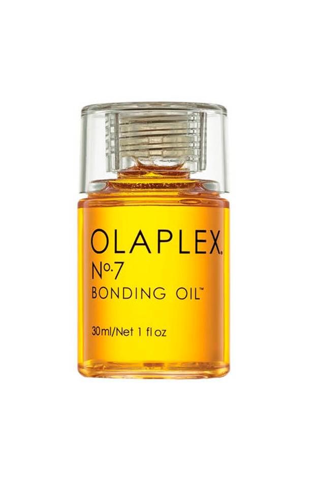 pelo encrespado Olaplex