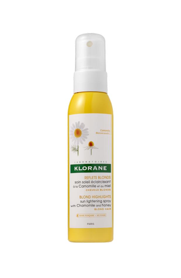 protectores para el cabello Spray aclarador a la Camomila y a la Miel de Klorane