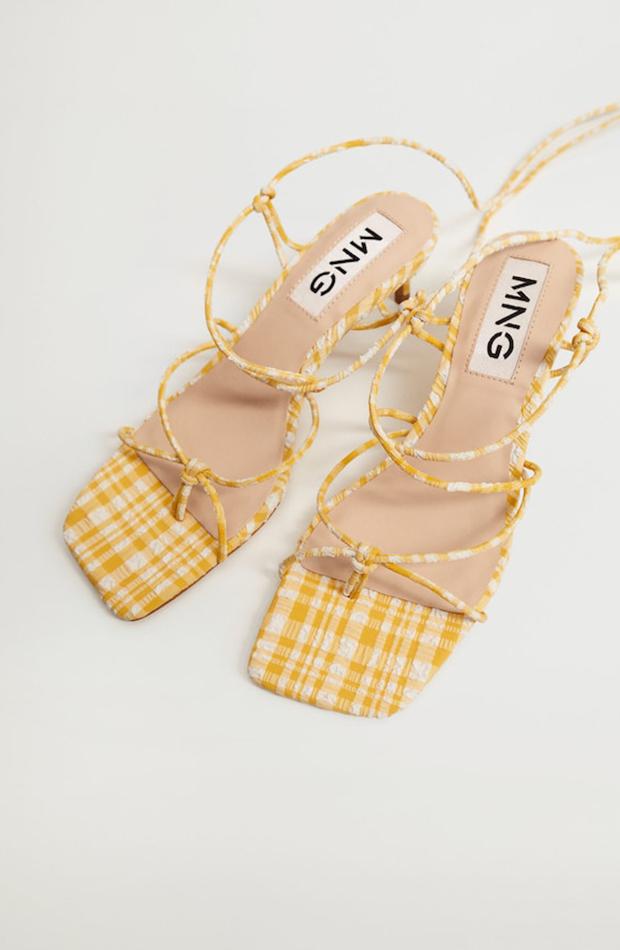 sandalias de tacón Mango