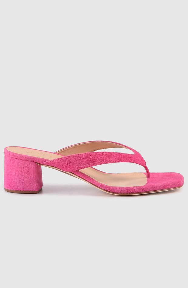 sandalias de tacón unisa