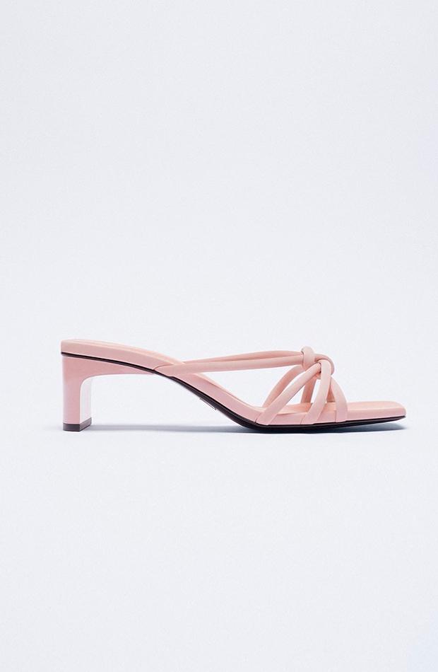sandalias de tacón Zara