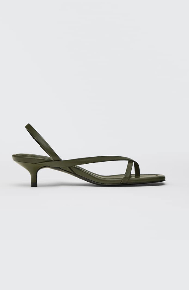 sandalias de tacón Massimo Dutti