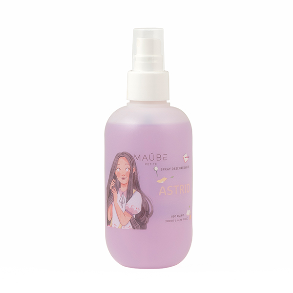 Spray desenredante sin aclarado Astrid de Maûbe Beauty desenredar el pelo
