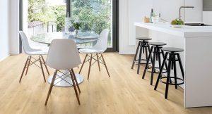 Suelo de madera en la cocina, ¿es posible?