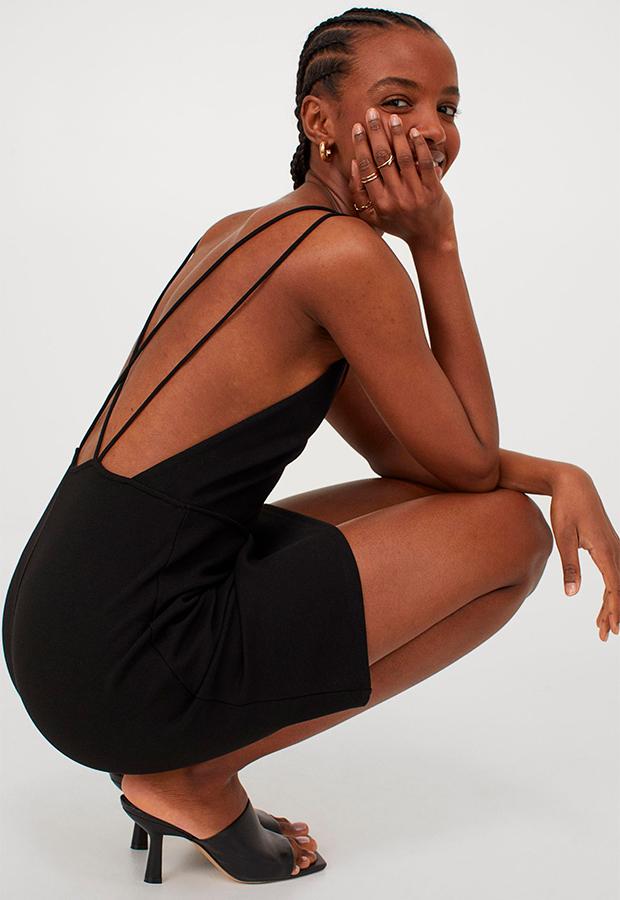 Vestido de invitada low cost de H&M