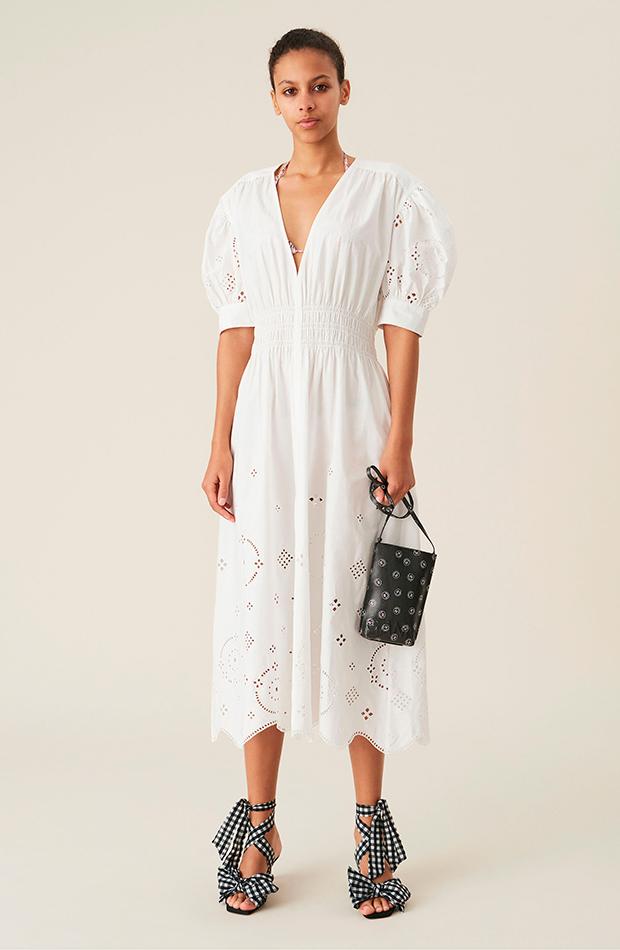 vestidos clásicos Ganni