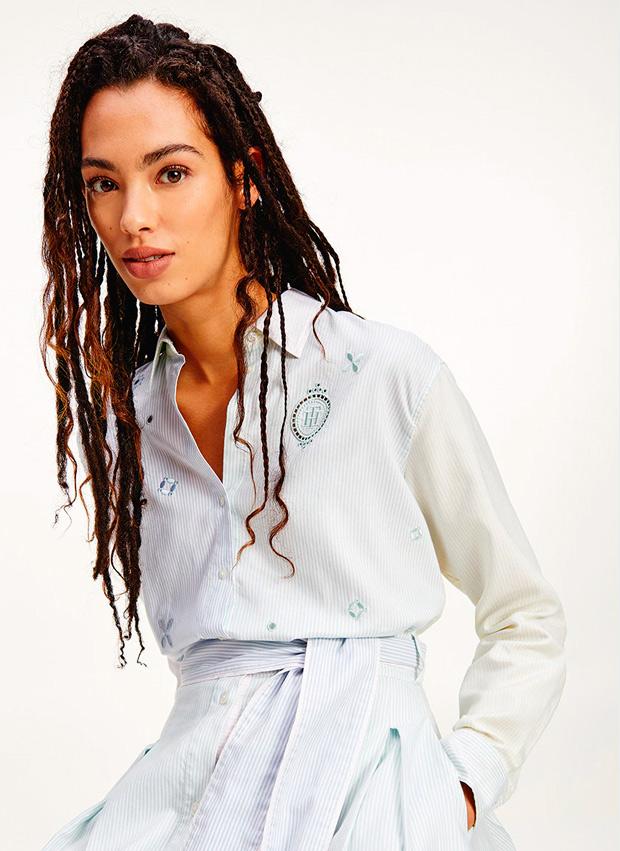 camisa patchwork de El Corte Inglés