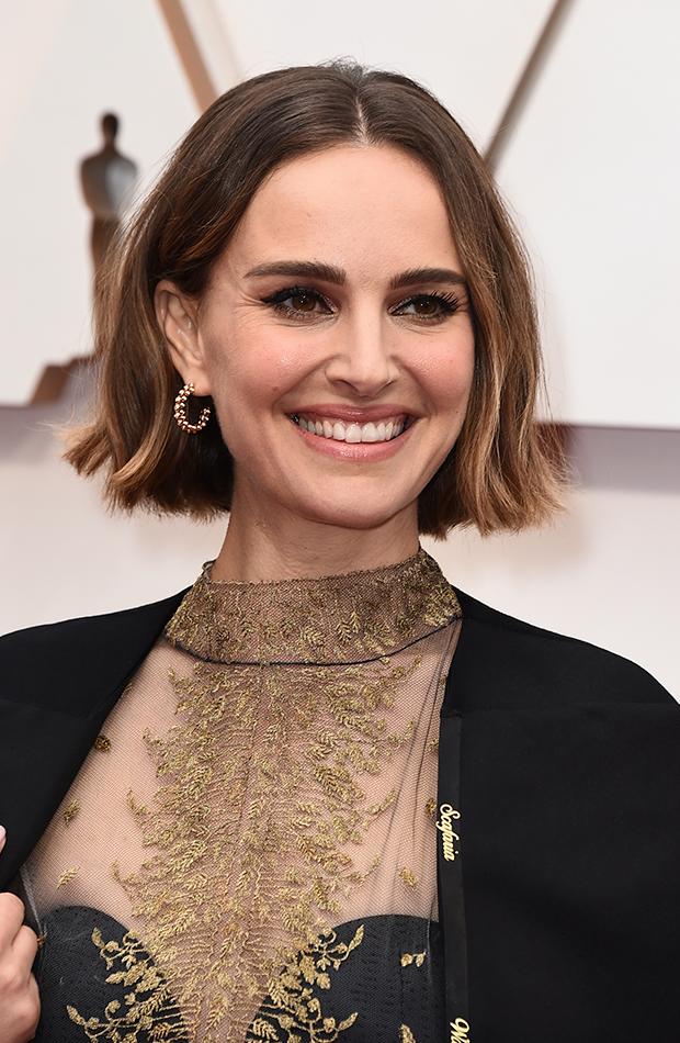 Natalie Portman corte de pelo bob