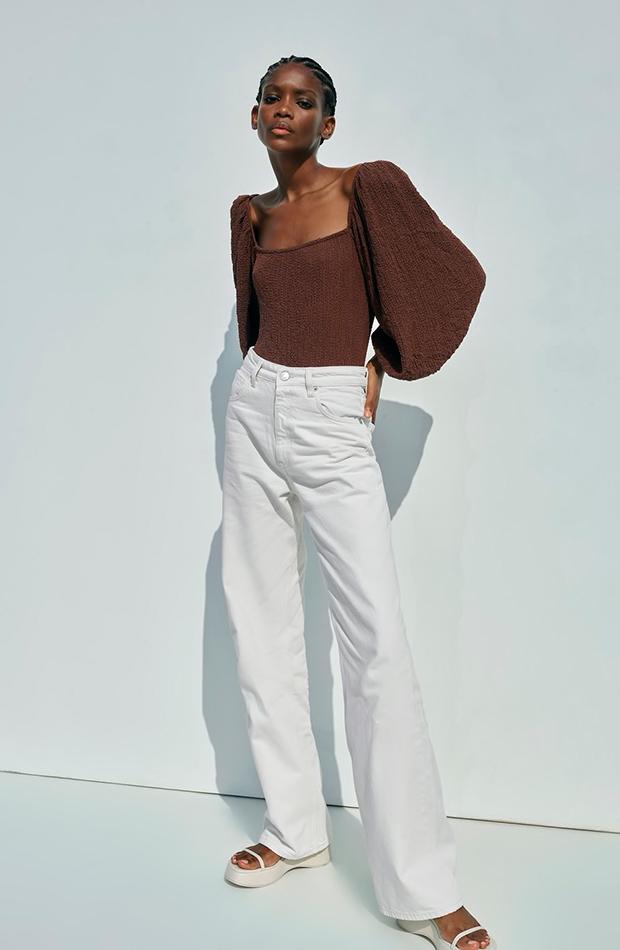 novedades de Zara Body marrón