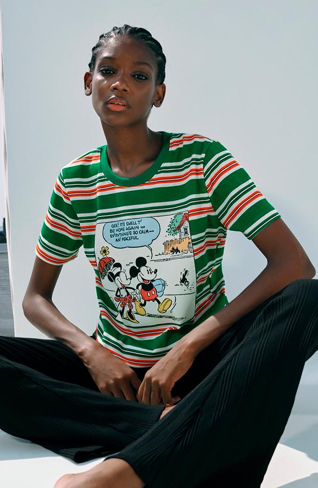 novedades de Zara Camiseta de Mickey